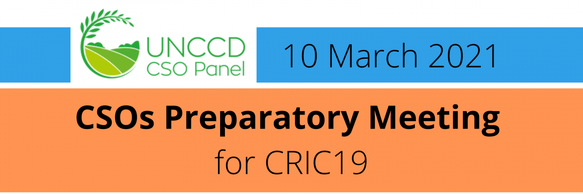CSOs Preparatory Meeting to the CRIC19 of UNCCD (3)